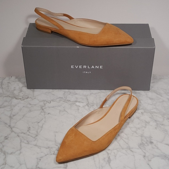 69b5b1f91 Everlane Shoes | Editor Slingback Nwot With Box | Poshmark